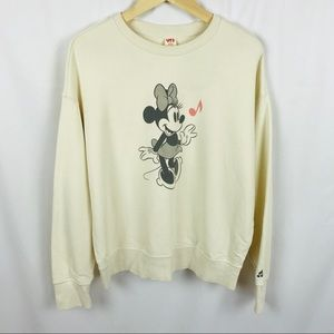 NEW! Disney Minnie Mouse crewneck sweatshirt